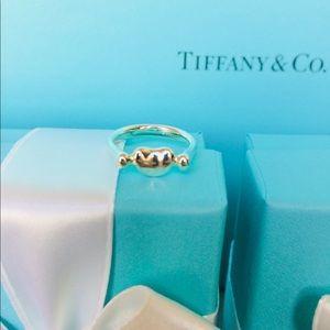 Tiffany & Co. Elsa Peretti Bean Ring Size 5